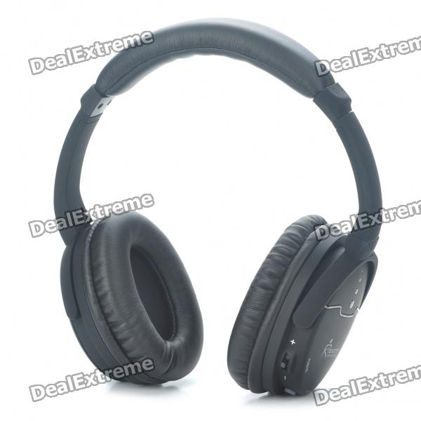 RX-W003 2.4GHz Wireless Headphone - Black (2 x AAA / 2 x AAA)