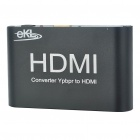 YPbPr to HDMI Video Converter - Black