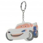 Buy Cars Silicone Anime Figure Keychain - White