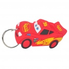 Buy Cars Silicone Anime Figure Keychain - Red + Yellow + Black