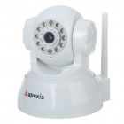 300KP Wireless Network Security Surveillance IP Camera w/ 10-LED IR Night Vision - White