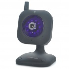 Mini 300KP Wireless Network Security Surveillance IP Camera w/ 10-LED IR Night Vision - Black