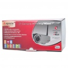 Outdoor 300KP Wireless Network Security Surveillance IP Camera w/ 18-LED IR Night Vision - Silver