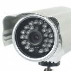 Outdoor 300KP Wireless Network Security Surveillance IP Camera w/ 24-LED IR Night Vision - Silver