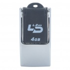 Stylish USB 2.0 Flash Drive (4GB)