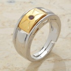 Fashion Copper Alloy Ring (Size 8.5)