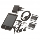 "4.0"" Capacitive Android 2.2 Dual SIM Quadband GSM TV Cell Phone w/ Wi-Fi - Black"