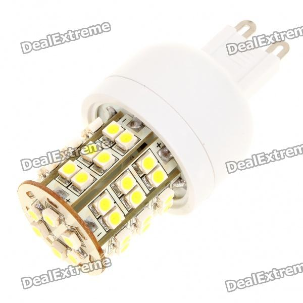 G9 3W 6500K 195-Lumen 48-3528 SMD LED White Light Bulb (AC 230V) - DXLED Light Bulbs<br>Material: PCB Emitter Type: 3528 SMD Total Emitters: 48 Power: 3W Color BIN: White Rated Voltage: AC 230V Luminous Flux: 195LM Color Temperature: 6000~6500K Connector Type: G9<br>