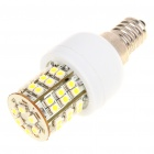 E14 3W 6500K 195-Lumen 48-3528 SMD LED White Light Bulb (AC 230V)