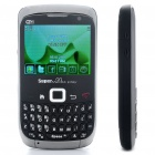 "X93 2.3"" LCD Dual-SIM Dual-Network Standby Tri-band GSM TV Qwerty Cell Phone w/ JAVA/Wi-Fi - Black"