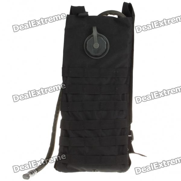 цены  Fashion Survival Water Bag with Water Tube - Black (2.5L)