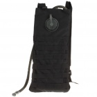 Fashion Survival Water Bag with Water Tube - Black (2.5L)