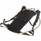 Fashion Survival Water Bag Backpack with Water Tube - Black (2.5L)