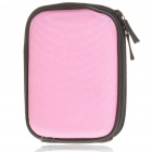 Stylish Hard Digital Camera Nylon Bag - Pink