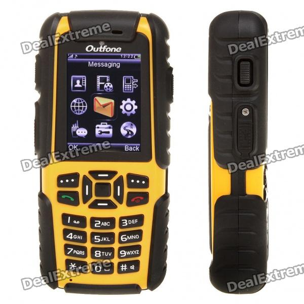 Outfone Bd351g 2 0 Quot Lcd Ultra Robusto Impermeable Quadband