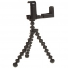 Universal Flexible TrIpod Stand Holder Support for Iphone 4 / Cellphones - Black
