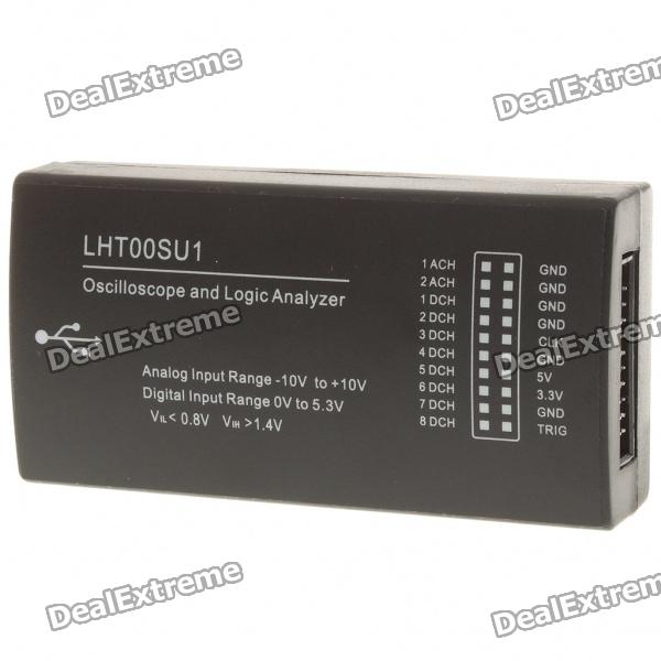 USB Oscilloscope and Logic Analyzer usb 50m dual channel 100m sampling rate digital virtual oscilloscope