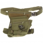 Military Tactical War Game Multi-Purpose Shoulder Bag/Leg Bag - Green
