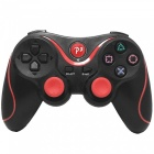 Rechargeable DualShock Bluetooth Wireless SIXAXIS Controller for PS3 (Black + Red)