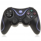 Rechargeable DualShock Bluetooth Wireless SIXAXIS Controller for PS3 (Black + Purple)
