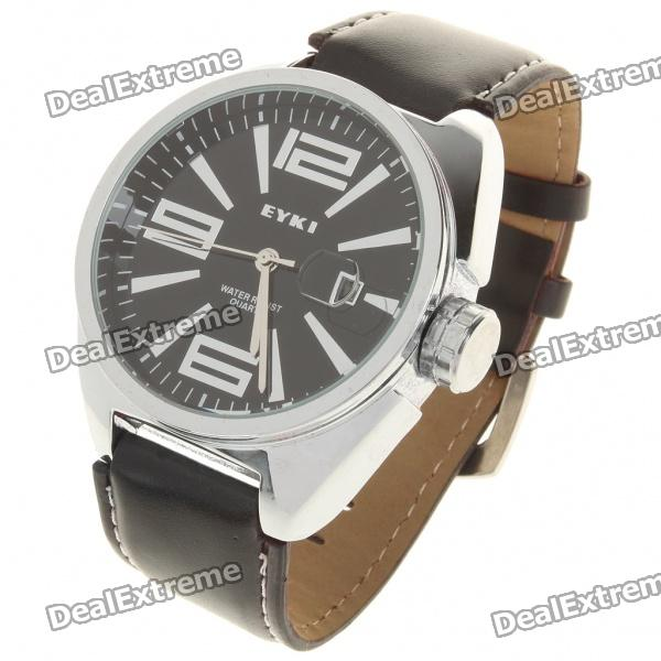 Fashion Water Resistant Quartz Wrist Watch with Date Display (1 x LR626)