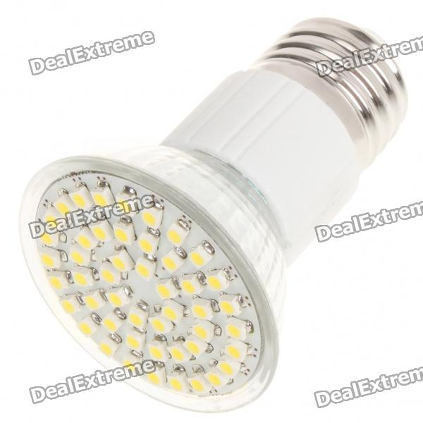 E27 3.5W 48-SMD 3528 LED 145-195LM 6000-6500K White Light Bulbs fengyangdengshi 018 e27 3w 90lm 6500k white light 48 3528 smd led corn lamp white yellow 220v