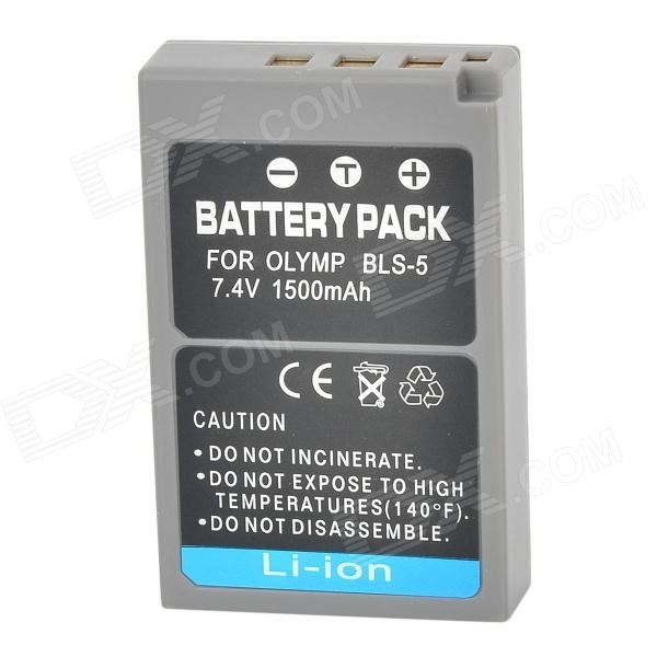 ReplacementRechargeable1500mAh7.4VBatteryPackforOlympusE-PL2/БСТ-5