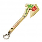 Buy Cool Zinc Alloy CrossFire Rose Axe Keychain (Random Color)