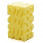 Auto Car Washing Cleaning Sponge Pad - Yellow