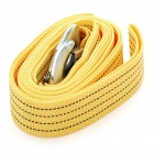 3 Ton Nylon Heavy Duty Car Tow Rope - Yellow (3m-Length)