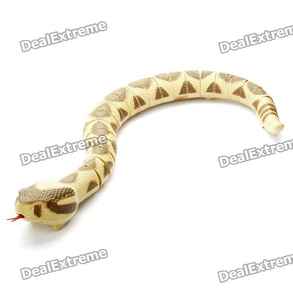 Remote Controlled Snake Toy (4xAAA + 1x9V)