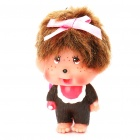 Cute Monchhichi PVC Image Figure with Metal Chain - Random Color