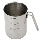 Stainless Steel Graduated Pouring Beakers (1000ml)