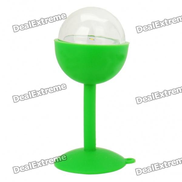 Creative Yellow Light Lamp with Suction Cup - Random Color (3 x AG10)