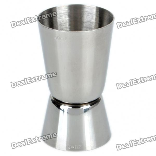 Stainless Steel Dual Measuring Cup (40cc/20cc)