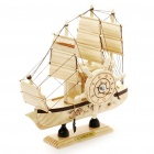Stylish Wood Ferris Wheel Sailing Boat Music Box