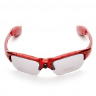 Sports Sunglasses with Red Laser + 2-LED 3-Mode White Light - Red (3 x AG13)