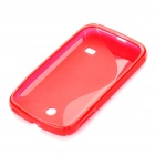 Protective TPU Back Case for Motorola M865/C8650 - Red