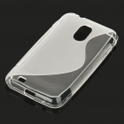 Protective TPU Back Case for Samsung SGH T989 - Translucent White