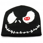 Trendy Outdoor Travel Knitting Cycling Hat/Cap - Black + White + Red