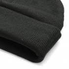 Trendy Outdoor Travel Knitting Cycling Hat/Cap - Black