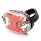 9-LED 7-Mode Red Waterproof Shockproof Bicycle Safety Tail Light with Bike Mount (2 x AAA)