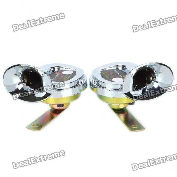 Unique Sousaphone Style Euro Sound Car Horns (Pair/DC 12V)