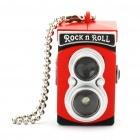 Mini Camera Lucky Charm Keychain with Flash Torch - Random Color (3 x LR1130)