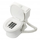 Unique Toilet Style Land Line Telephone - Random Color