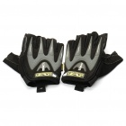 Vietnam Mechanix M-Pact Tactical Half Finger Handschuhe - Schwarz + Grau (XL-Size/Pair)