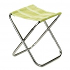 Portable Outdoor Camping Folding Chair Stool (Random Color)