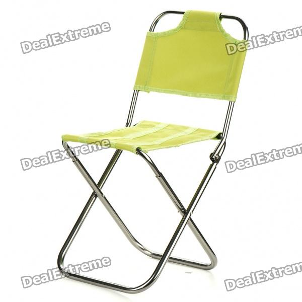 Portable Outdoor Folding Seat Stool with Backrest (Random Color) fashion folding bed waterproof inflatable mattress with backrest bedroom furniture mueble de dormitorio camas free shipping