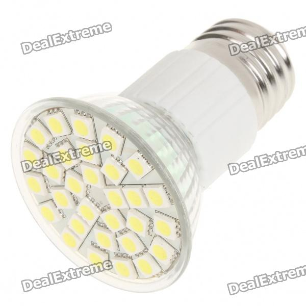 E27 5.5W 360LM 6500K Cool White Light 30 * LED SMD Cup Blub (85 ~ 265V)