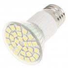 E27 5.5W 6500K 360-Lumen 30-SMD LED White Light Blub (85 ~ 265V)
